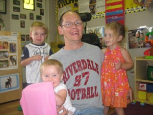 Darrin and kids
